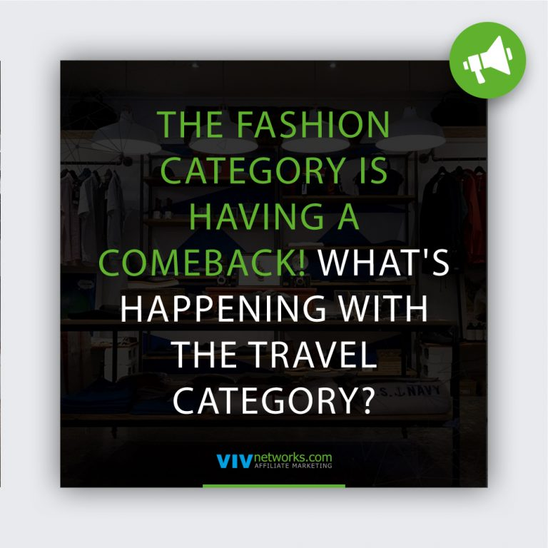 The Fashion category is having a comeback! What's happening with the Travel category?